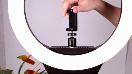 【摄影器材推荐】直播,抖音,头条必不可少的神器——AFI航景瑞光 R系列LED环形补光灯