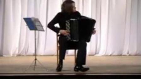 【巴扬手风琴】巴赫Prelude and Fugue c- minor BWV 847