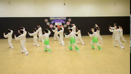 楊式40式太極拳- 健樂在康山7週年慶祝會 殷泽政供稿