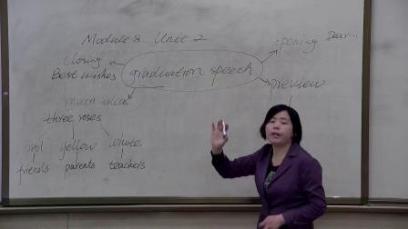胡瑞芳--外研版初中英语九年级下M8U2微型课实录