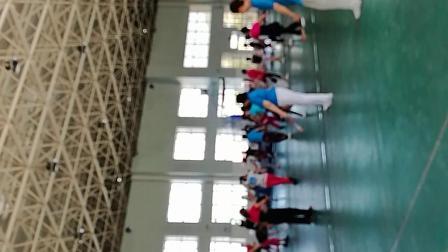 2019年6月29日自治区老体协主办在奎屯全民健身中心培训班