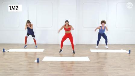 30-Minute No-Equipment Cardio & HIIT Workout 30分钟无设备运动
