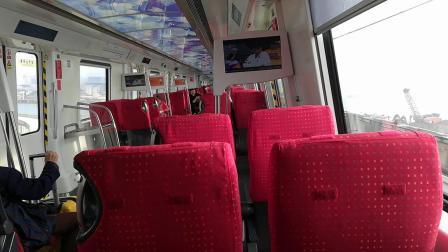 深圳地铁11号线紫红酸葡萄机场商务车厢碧海湾到机场,可到深圳宝安国际机场的广播