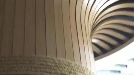 宏铝建材-树形天花吊顶