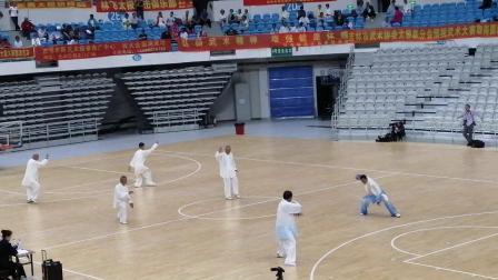 吉林省太极拳比赛(吉林地区)韩健道家太极拳冠军