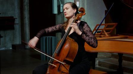 【巴洛克音乐】巴赫 D小调第二号无伴奏大提琴组曲 BWV1008丨Eva Lymenstull