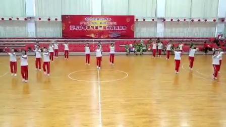 灵石县老年体忇2019年5月12日《母亲节》水兵舞展演
