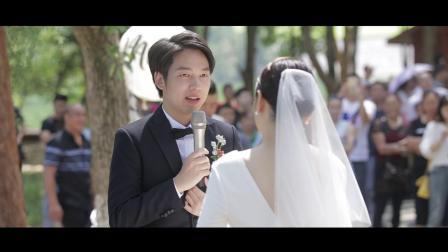罗隽宇 刘逸 户外婚礼高清百合婚礼201899