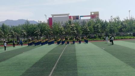 特克斯县蒙古乡托斯曼小学太极拳比赛视频