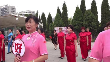 景州旗袍姐妹庆七一