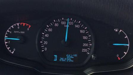 福睿斯高速4000转加速能力,油门还有一半