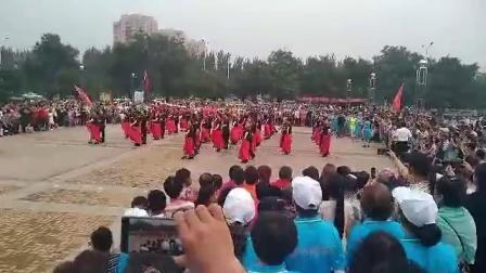 沈阳辽中近海浪花广场舞北京平四《最美姑娘》