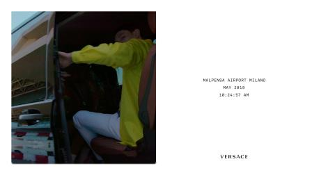 Versace Pre-Fall 19 Adv Campaign