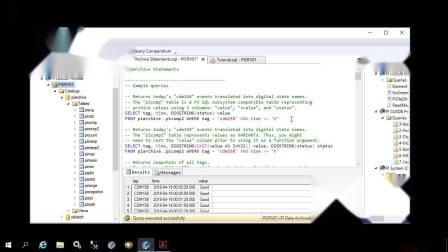 9 - Write queries using PI OLEDB Provider Schema