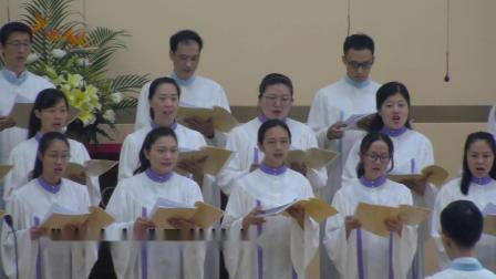 基督教深圳堂青年诗班早堂献唱《满心感恩》20190623