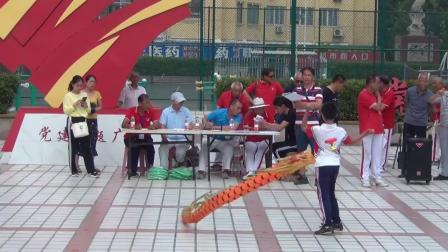 """任城区""""杯""""第九届全民健身运动会空竹比赛"""