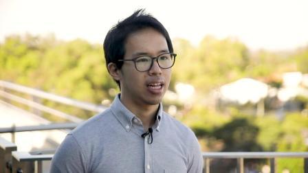 Meet Lucas, he studies Biotechnology at UQ
