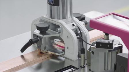 威图精选产品系统之移动式母铜排加工中心 CW120-M