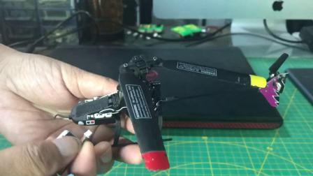 如亨航模 esky 150v2安装电池方法