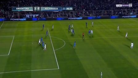 梅西在阿根廷国家队里那些不可思议的球技