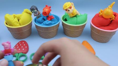 4种颜色玩冰淇淋杯口罩惊喜玩具愤怒的小鸟玩具更友善的惊喜蛋