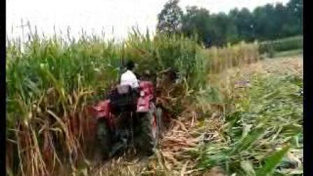四轮带动的艾草割晒机玉米秸秆割晒机苜蓿草收割机省工省力