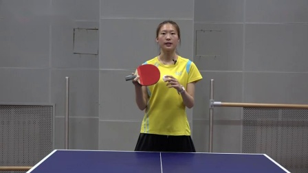 乒乓生活《代恬长胶乒乓球系列教学》第一集长胶拱技术(1)_高清