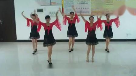 穿心村文雯广场舞《梦中的蝴蝶》