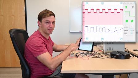 Moku:Lab十二合一多功能测量仪中示波器和波形发生器用于简单的光通信实验测量