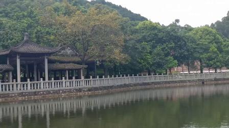 东莞厚街镇福神岗公园,风景四季如春