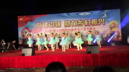 非凡舞蹈队《祖国的花朵》2019年6月28日 七一党庆文艺晚会