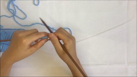绒尚手工-斜纹围巾编织视频教程毛线编织步骤