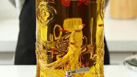 泡酒瓶玻璃瓶带龙头人参酒瓶泡酒罐密封罐子酒坛子酒桶大容量20斤