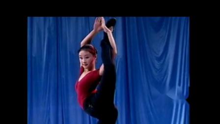 腿的控制 舞从敦煌来