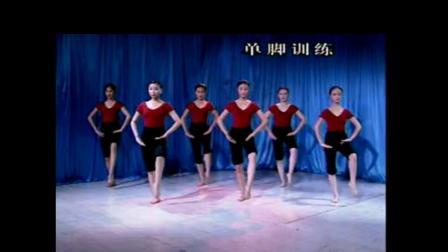 单脚训练 舞从敦煌来