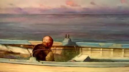 奥斯卡获奖短片《老人与海》油画版