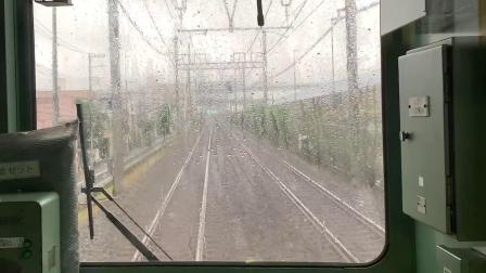 東武鉄道・区間急行・伊勢崎線→日光線(浅草→南栗橋)10030系電車 2019.7.3