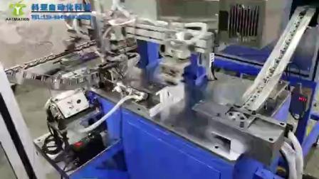 汽车门锁扣全自动化组装机  非标机械手定做都说好的厂家