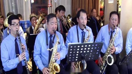 郑州东方艺术团别具风格的口琴二重奏 2019.7.5.