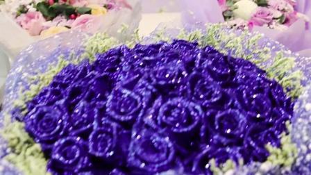 母亲节花束香水百合鲜花混搭玫瑰东莞同城速递送莞城塘厦大朗横沥