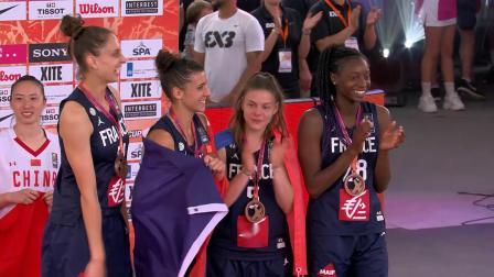 2019世界杯球队集锦—法国女篮
