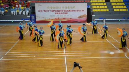 射阳县盘湾镇老年体协代表队自选节目《扇趣》