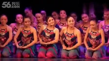 女子民族群舞《新桃花红杏花白》_640x360_2.00M_h.264..._高清_标清