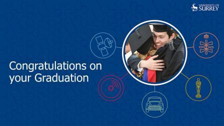 苏泳华-英国萨里大学理学硕士毕业典礼