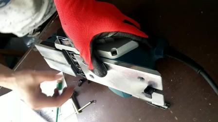 电刨刨刀安装视频
