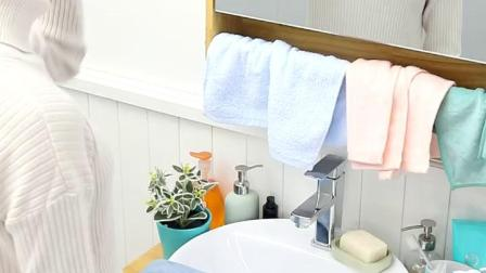 卫生间浴室置物架落地壁挂厕所洗澡洗手间脸盆架洗衣机马桶收纳架