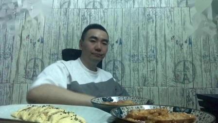 西葫芦炒番茄厚蛋烧蛋黄鸡翅