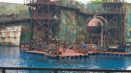 新加坡环球影城未来水世界实景演出秀(完整版)