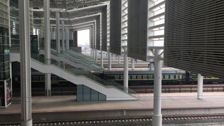 杭州南站 K833次 上局沪段HXD1D牵引通过