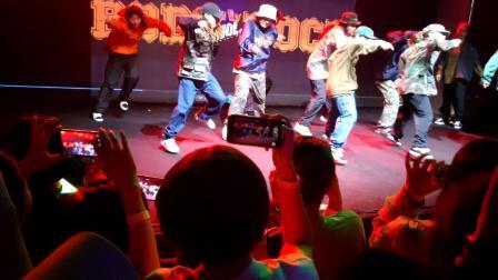 Mastercool 13周年的公演  hiphop表演